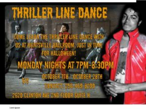 Thriller Line Dance